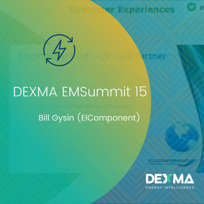 DEXMA EMSummit 15 | Bill Gysin (ElComponent)