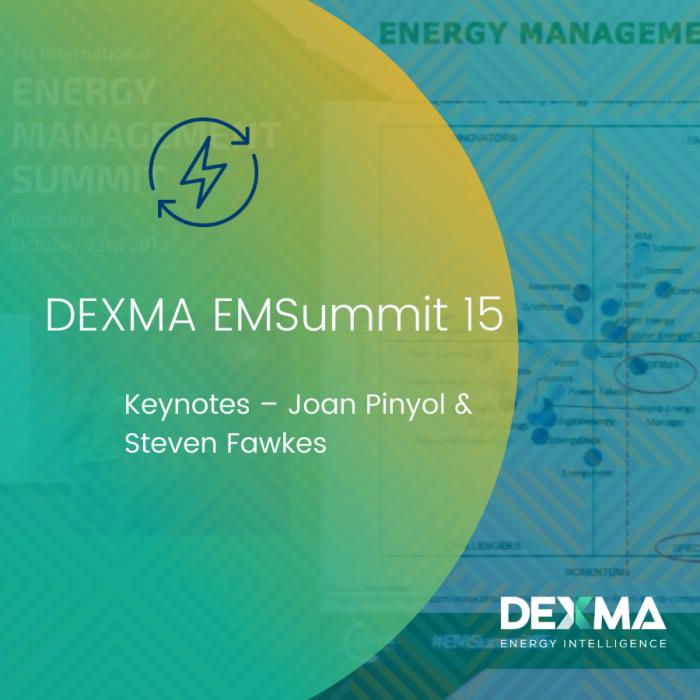 DEXMA EMSummit 15 | Keynotes – Joan Pinyol & Steven Fawkes