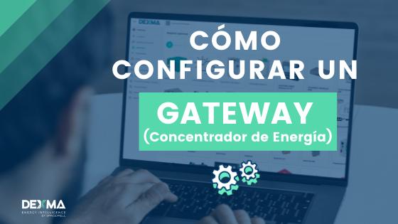 cómo configurar un concentrador de energía en un SGE
