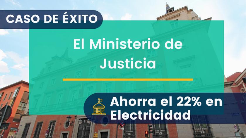 El Ministerio de Justicia Ahorra el 22% en Electricidad con su Sistema de Gestión Energética