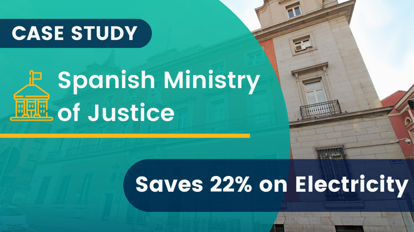 Spanish Ministry of Justice Saves 22% on Electricity
