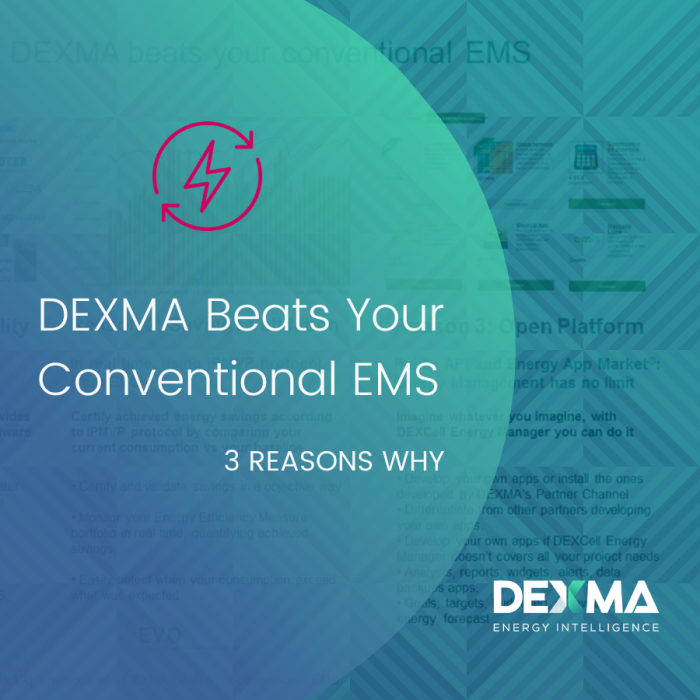 3 reasons why DEXMA beats your conventional EMS