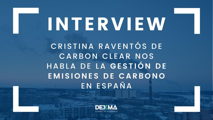 La Gestión de Emisiones de Carbono en España con Cristina Raventós de Carbon Clear [ENTREVISTA]