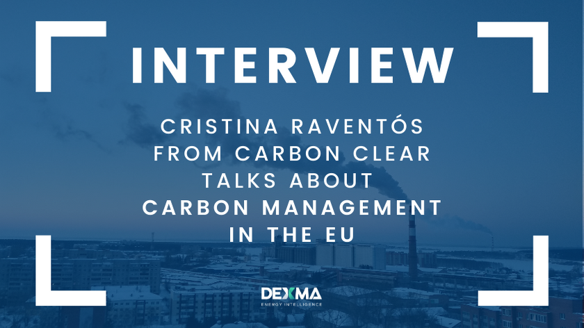 Carbon Management in the EU with Cristina Raventós from Carbon Clear [INTERVIEW]