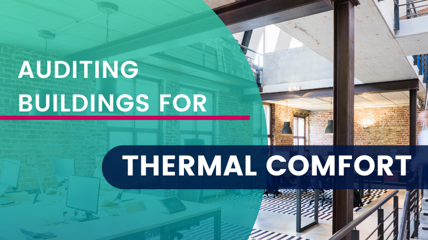 Auditing Buildings for Thermal Comfort