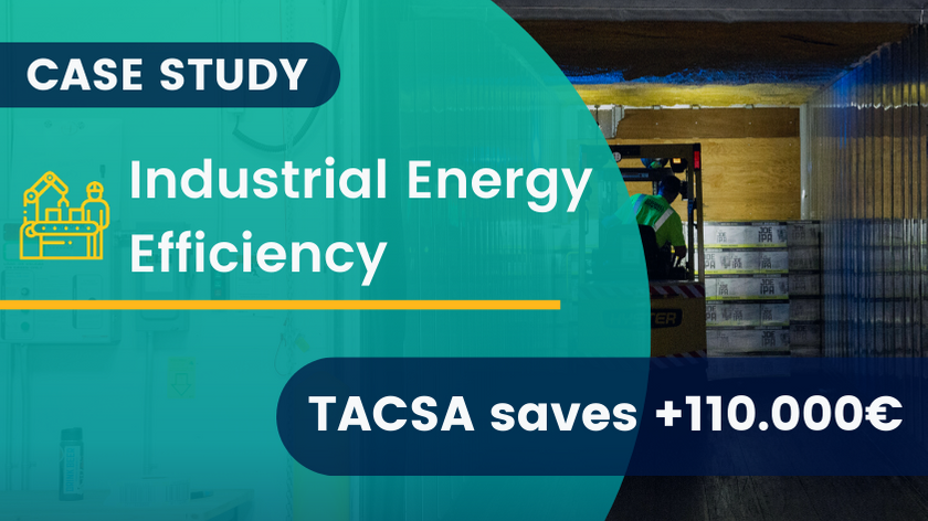 Industrial Energy Efficiency: TACSA saves €110,000 with 3ex4 [SUCCESS STORY]