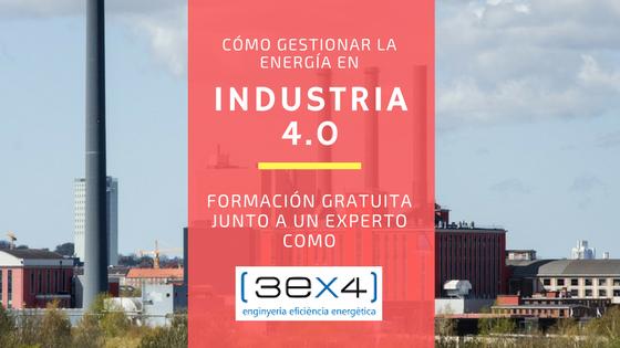 Industria 4.0 y gestión energética industrial