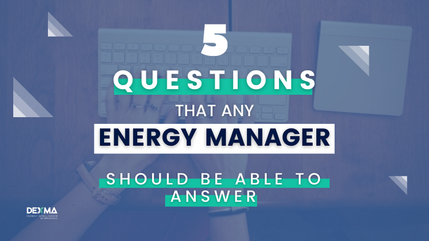 QUESTIONS FOR ENERGY MANAGER