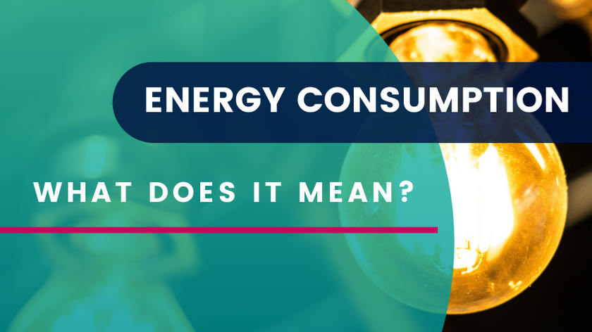What does energy consumption mean?