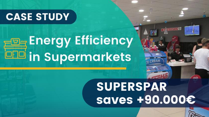 Energy Efficiency in Supermarkets: How SUPERSPAR saves +€90k in energy