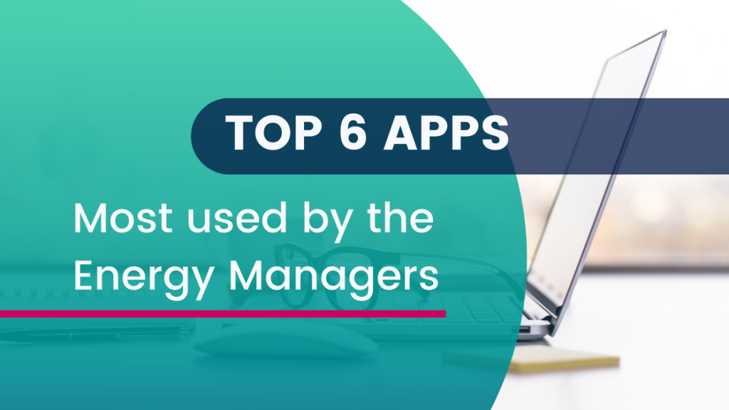 Apps most used by Energy Managers