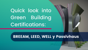 Certifications BREEAM, LEED, WELL, PASSIVAUS
