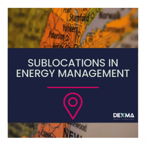 Sublocations in Energy Management