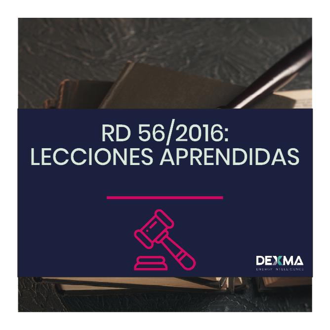 Real Decreto de Eficiencia Energética: RD 56/2016