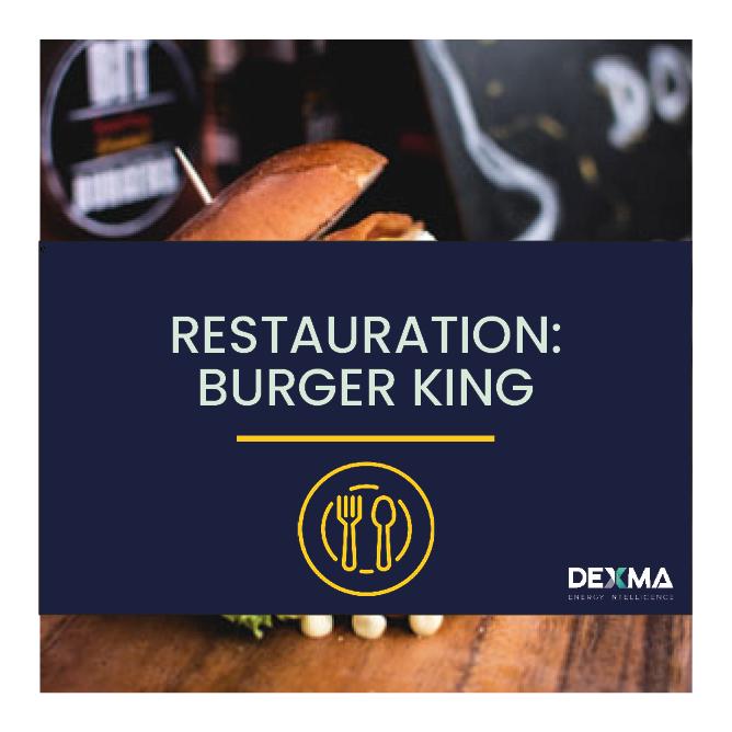Gestion Énergétique dans la Restauration – Burger King