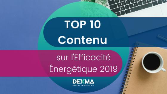 top 10 contenu sur l'efficacité énergétique 2019