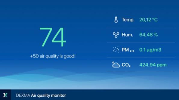 DEXMA Indoor Air Quality