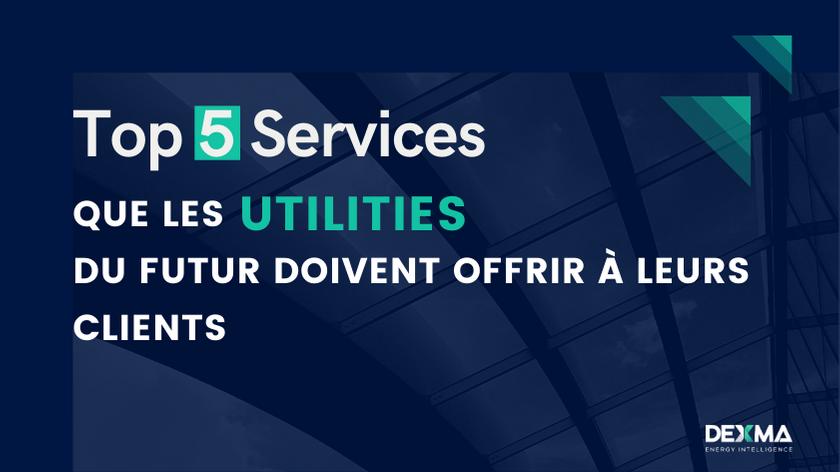 Top 5 Services que les Utilities doivent offrir à leur clients