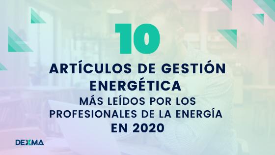 artículos de gestión energética 2020