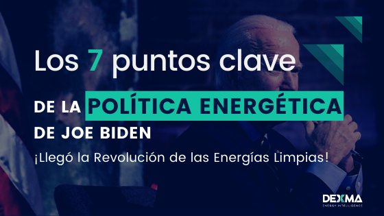 puntos clave política energética de Biden