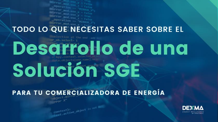 desarrollar o subcontratar un SGE para mi comercializadora de energía