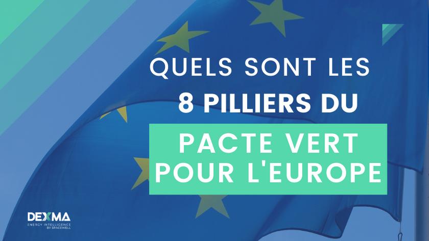 8 Pilliers du Pacte Vert pour l'Europe - DEXMA