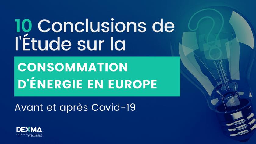 Étude sur la Consommation d'Énergie en Europe avant et après Covid-19