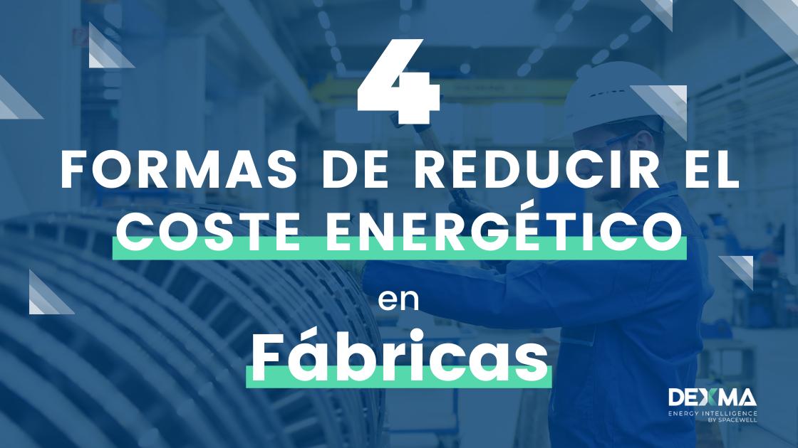 ahorrar energy en fábricas