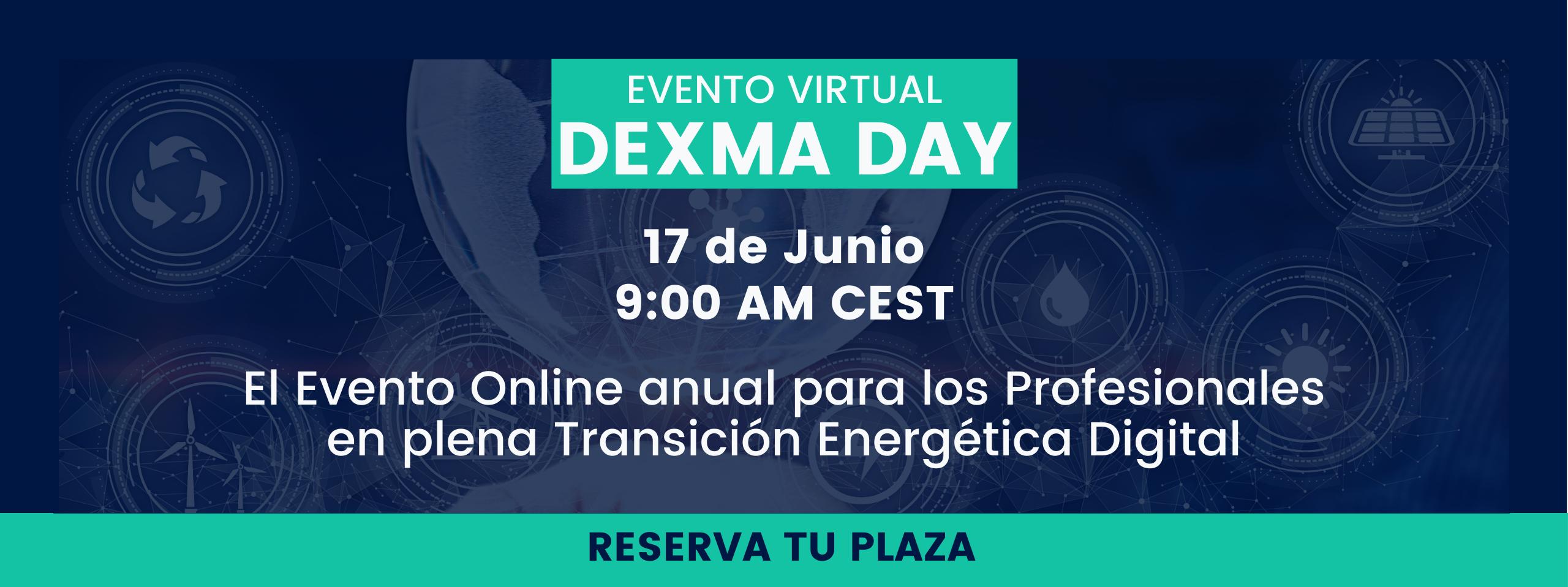 DEXMA Day 2021 - Evento sobre Gestión y Eficiencia energética