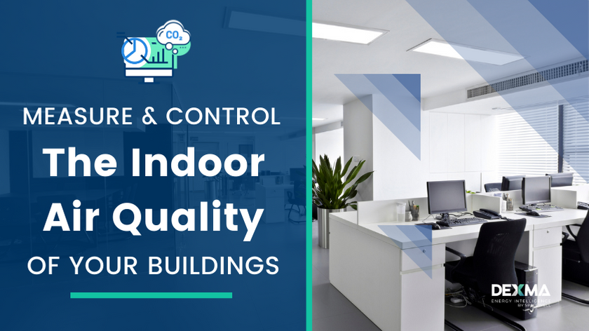 Monitorise Indoor air quality and the energy consumption