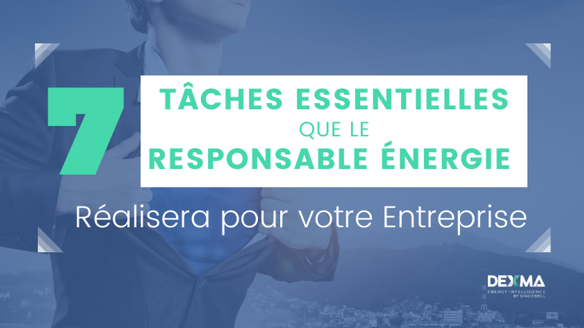 Tâches essentielles réalisées par le Responsable Énergie