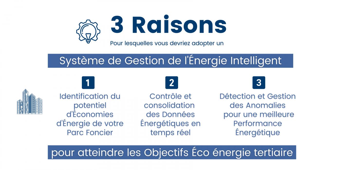 Système de Gestion de l'Énergie - Objectifs Éco énergie tertiaire
