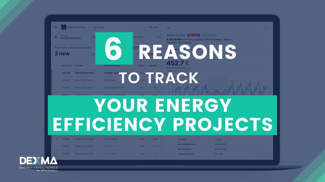 6 Reasons why you should Track your Energy Efficiency Projects